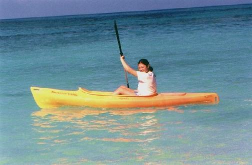 One of the single person kayaks